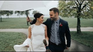 Rainy Wedding in a Milwaukee Coffee Shop | Ali + Garrett
