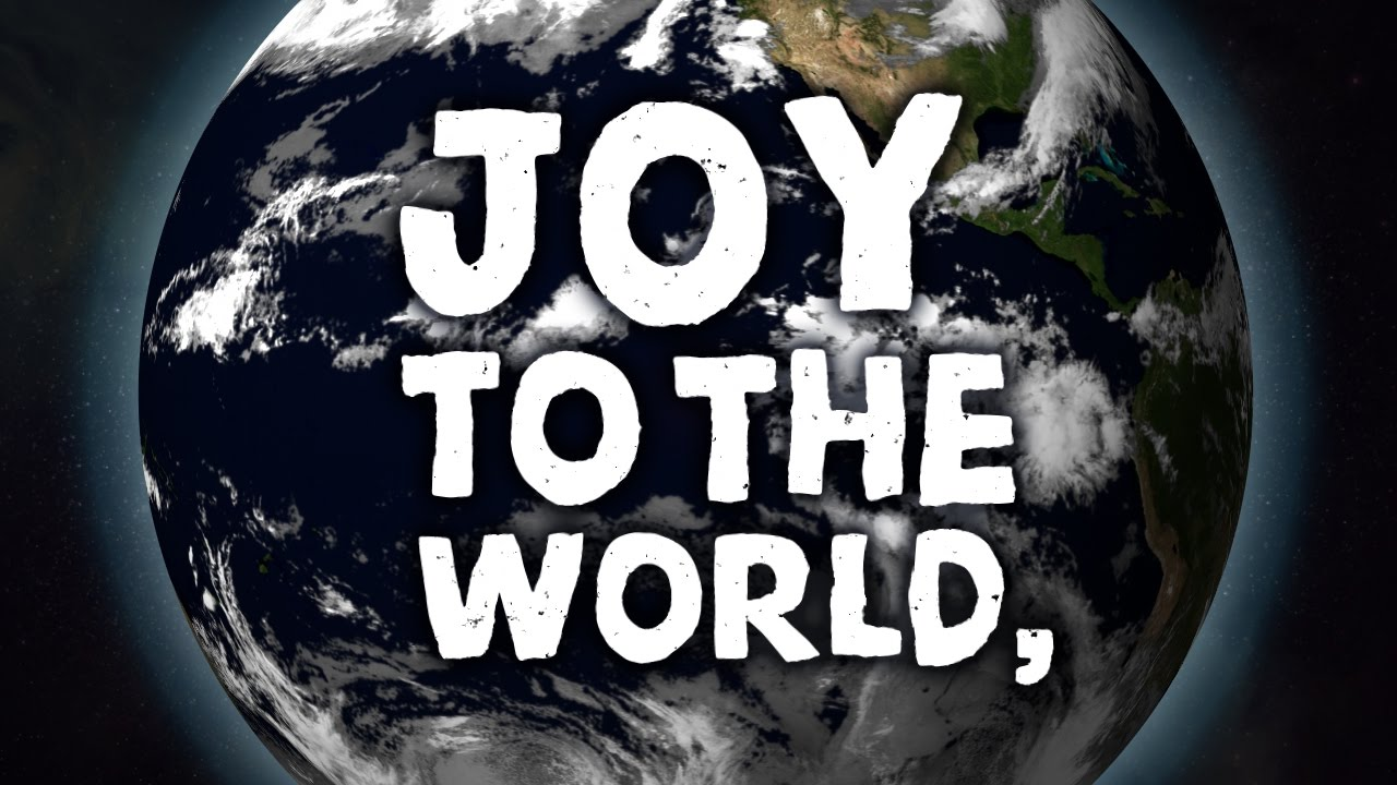 Joy to the World - Christmas song with lyrics - YouTube
