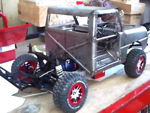 Qwick preview of RC trail truck build