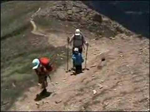 thomas au sommet du casamania 2740 m