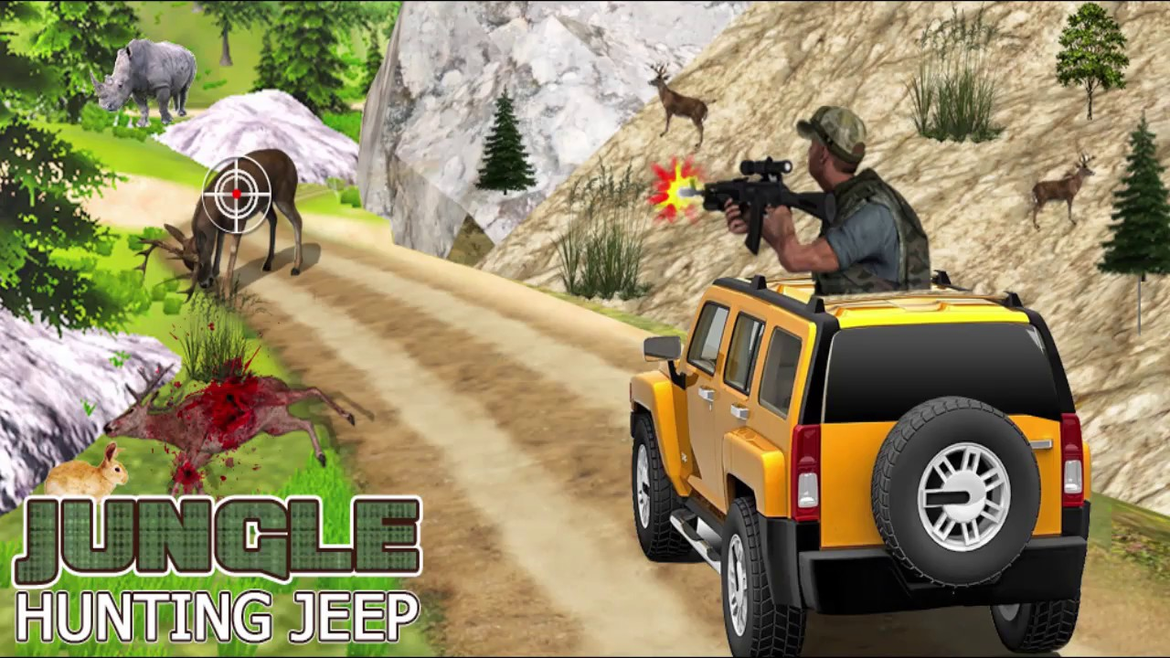 Jungle Hunting Jeep Game Play Offered By Zee Vision Games Youtube