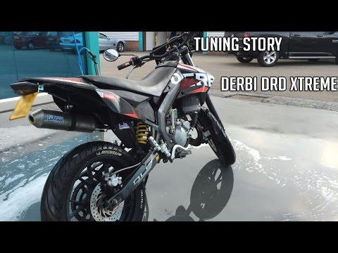 Derbi DRD Xtreme 50 - Tuning story