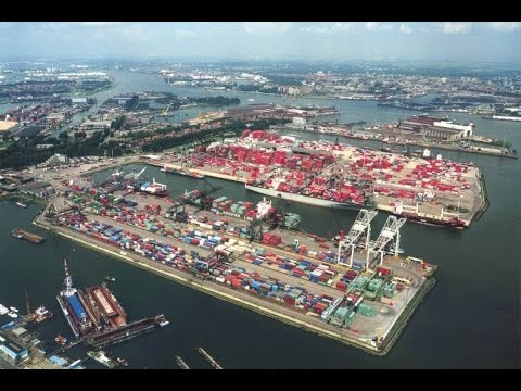 MegaStructures - Port Of Rotterdam (National Geographic Documentary)