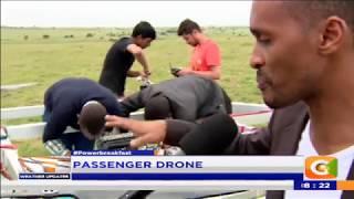 Power Breakfast:Passenger drone
