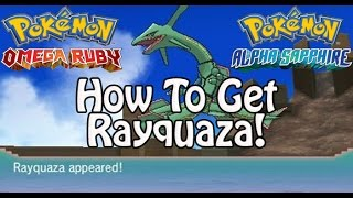 pokmon omega ruby and alpha sapphire   how to get rayquaza sky pillar delta episode