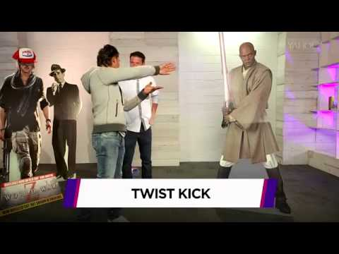 Tony Jaa: Martial-Arts Master Tony Jaa Take Down Brad Pitt & Other (Cardboard) Celebs