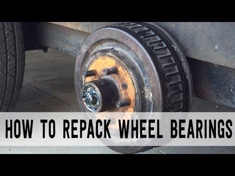 How to Repack Trailer Wheel Bearings [Start to Finish]