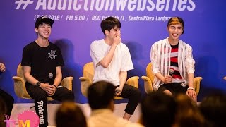 160416 Addictionwebseries 1st Fan Meeting in Thailand Press Conference