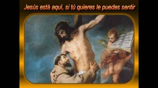 CANCION DIOS ESTA AQUI HD CON LETRA - musica catolica cristiana