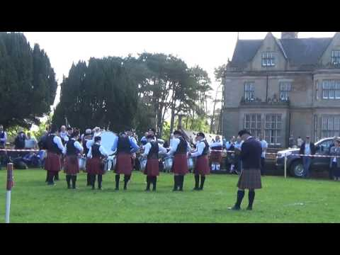 Gransha Pipe Band @ Ards & North Down Pipe Band Championships 2016