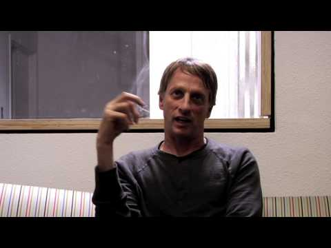 On the Crail Couch with Tony Hawk