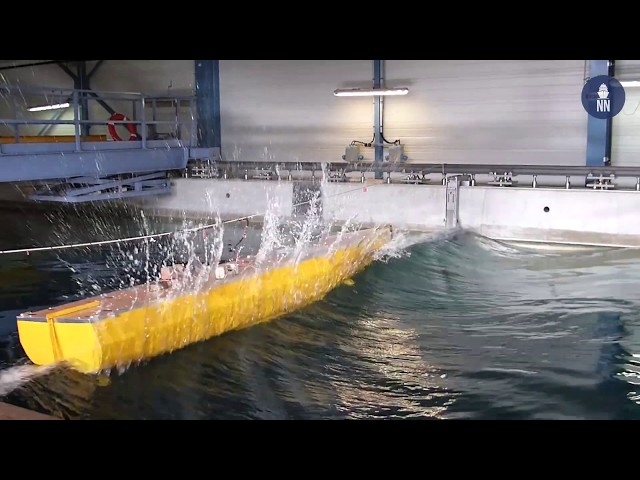 Inside Europe's largest hydrodynamic test facility: DGA Techniques Hydrodynamiques