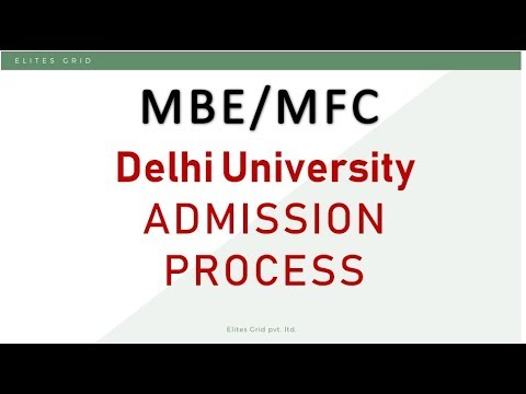 Mfc Mbe Admission Process Colleges To Apply Cat 2018 Youtube