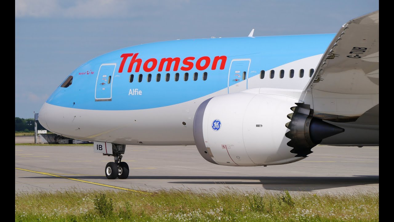 ✈ Thomson Airways - Boeing 787 Dreamliner + Nesma Airlines A320 at ...