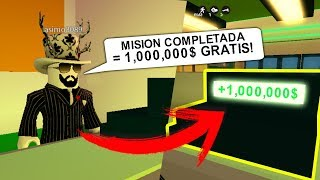 Complete this SECRET MISSION in JAILBREAK and GET 1,000,000 $ !! Roblox [SAVING MYTHS]