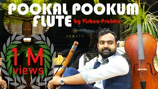 Pookal pookum flute - by Vishnu Prabha Ft Tittoo C J (HD)