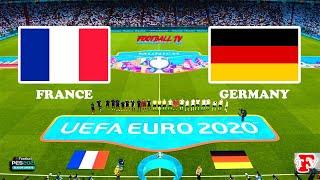 FRANCE vs GERMANY UEFA EURO 2020 PES 2021 GAMEPLAY PC