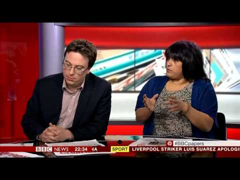 MARTINE CROXALL    BBC WORLD NEWS   The Papers   21 April 2013   pt1