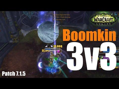 Boomkin PvP - 3v3 Lazerturkey (WoW Legion 7.1.5)