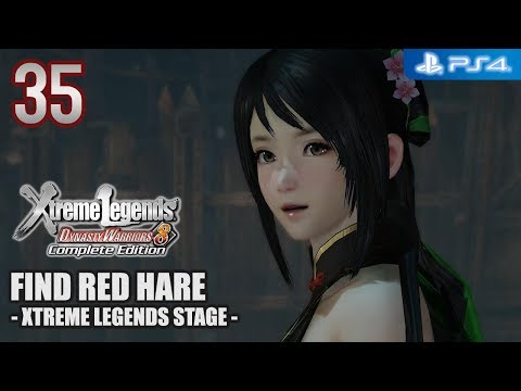 Dynasty Warriors 8 XL Complete Edition 【PS4】 Shu Story #35 │ Find Red Hare (XL-Stage)