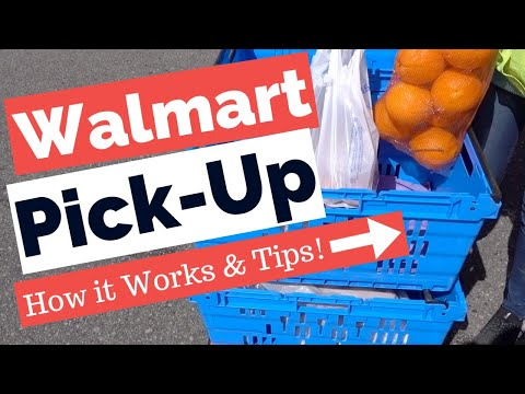 Walmart Grocery Pickup - How Does Pickup Work And Tips