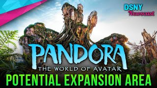 Potential Expansion Area for PANDORA - THE WORLD OF AVATAR at Animal Kingdom - Disney News - 1/28/20