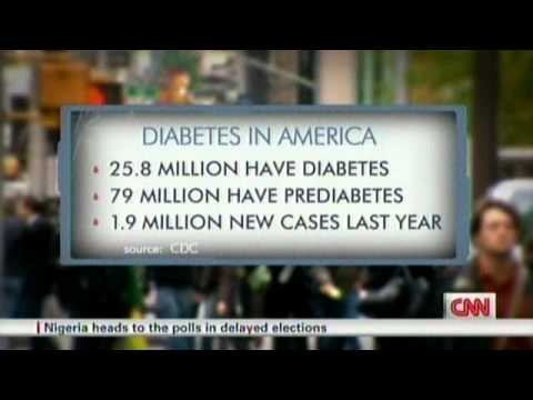 Diabetes Epidemic - By 2020 50% Of America Will Have Diabetes Or Be Pre-Diabetic