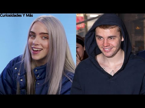LA REACCIÓN DE BILLIE EILISH AL CONOCER A JUSTIN BIEBER