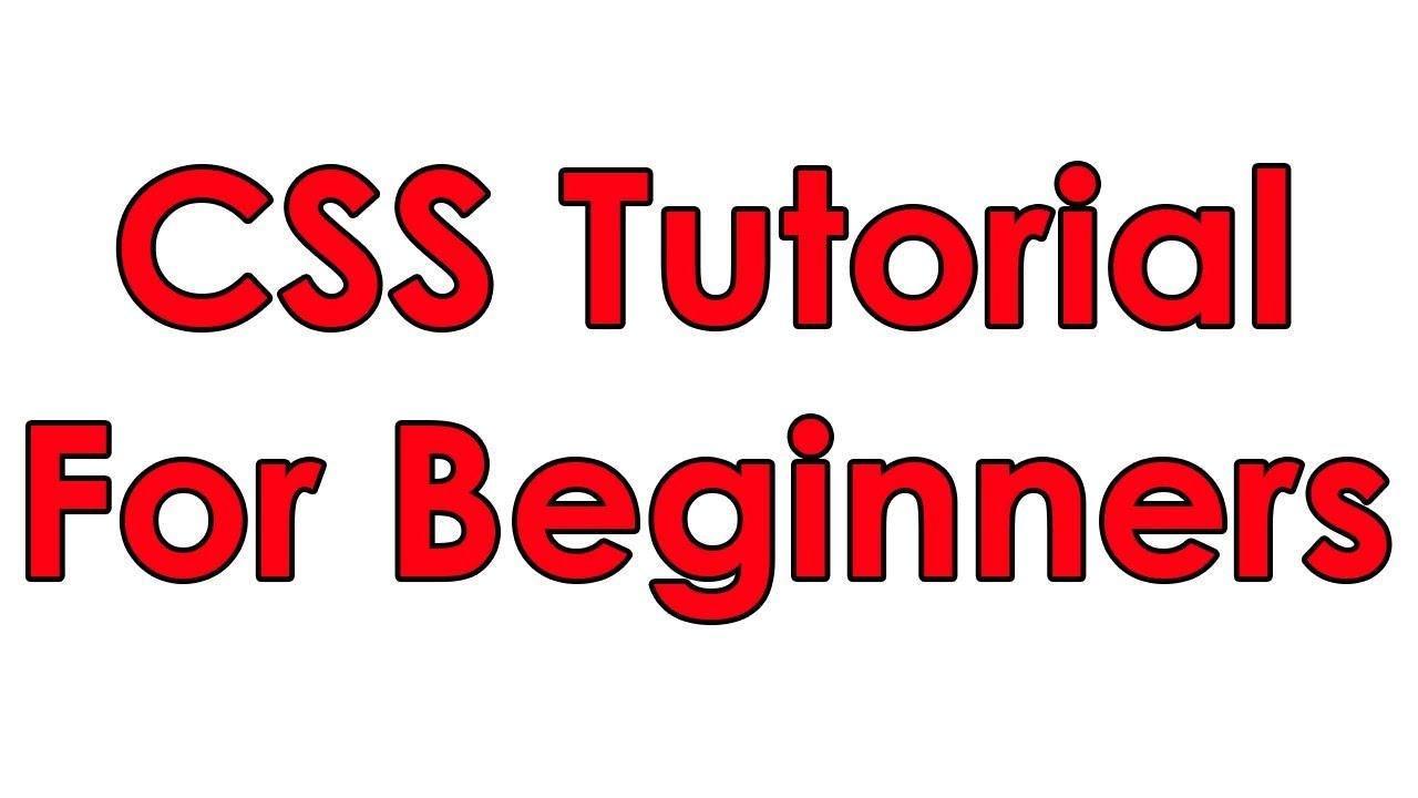 CSS Tutorial Pt 1 - Basic Layout - YouTube