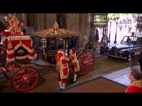 The Empress of America Opens Parliament 2015