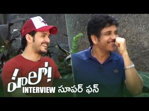 Akkineni Nagarjuna and Akhil Akkineni Super Fun Interview About Hello Movie | TFPC