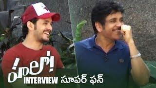 akkineni nagarjuna and akhil akkineni super fun interview about hello movie tfpc