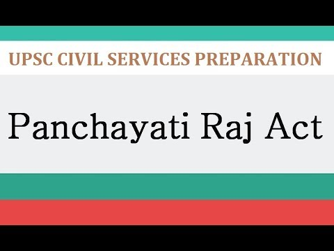 panchayati raj system in india 1 concept note 25 years of panchayati raj system in india: issues and challenges two-day national seminar to be organized on 18 th and 19 th august 201 7 by the.