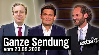 Extra 3 vom 23.09.2020 mit Christian Ehring | extra 3 | NDR