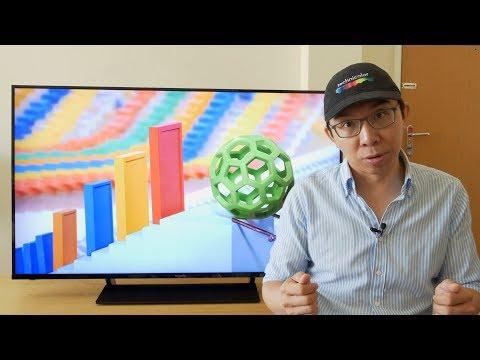 Panasonic GX800 4K LED LCD TV Review