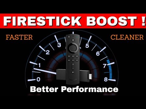 FIRESTICK BOOST ! Faster Speed, Cleaner & Better Performance !
