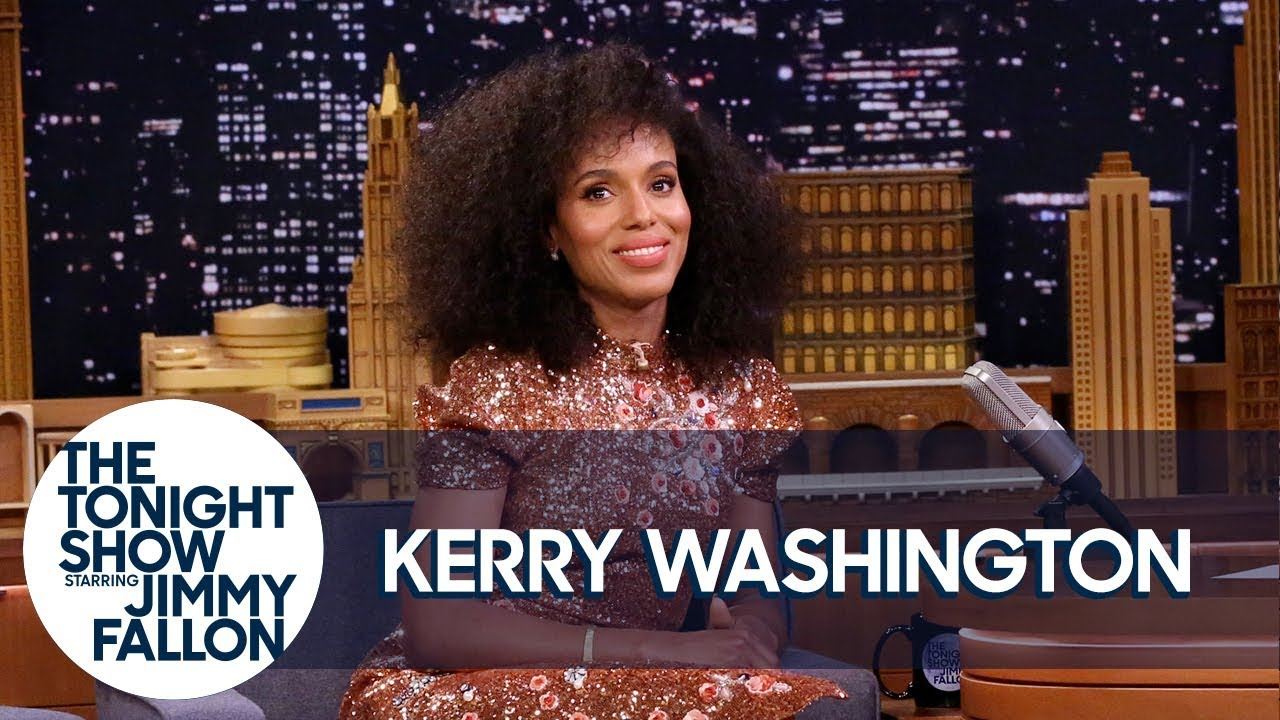 VIDEO: Kerry Washington Channeled Oprah for Her Crew's Scandal Wrap Gifts