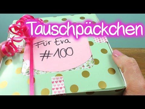 DIY Inspiration Challenge #100 | Tauschpäckchen mit Kathi | Evas Challenge | DIY Sonntag Challenge
