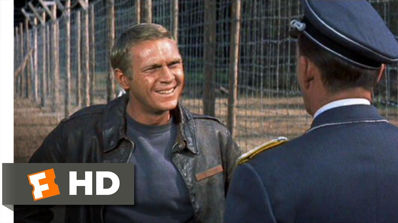 The Great Escape (1/11) Movie CLIP - To Cross the Wire Is Death ...