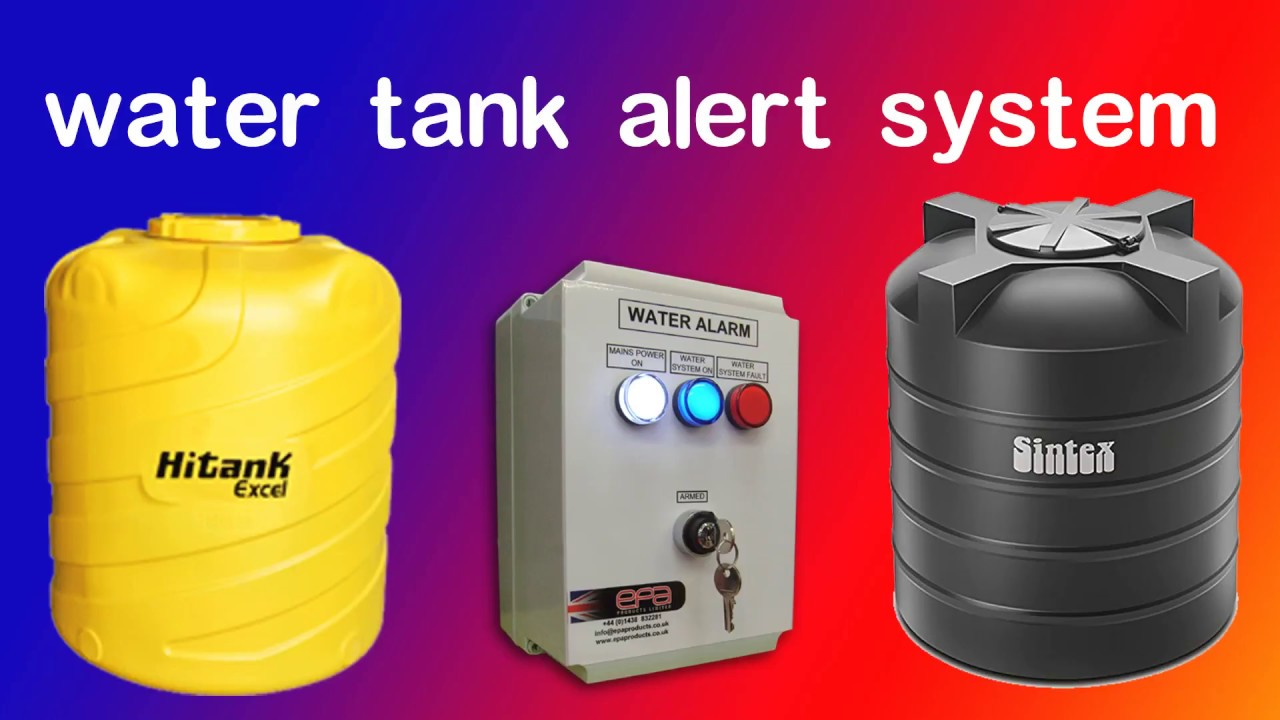 Water tank alert systam youtube water tank alert systam sciox Image collections