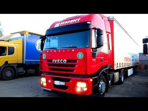 2008 IVECO Stralis 500. Start Up, Engine, and In Depth Tour.