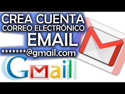 CÓMO CREAR UNA CUENTA DE CORREO ELECTRÓNICO O EMAIL Con GMAIL.COM