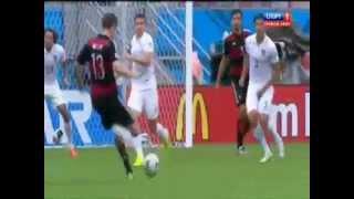 Видео голов. США - Германия - 0:1 - Гол Мюллера - 26.06.2014(, 2014-06-28T08:21:28.000Z)