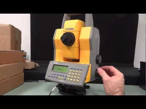 TRIMBLE 5601 DR200+ Total Station Survey Geodimeter 5600 Series. Calibrated