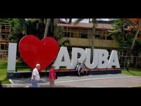 ARUBA All Inclusive Riu Palace Antillas | Buffet And Hotel Walk Around