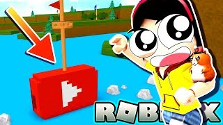 Will YouTube Play Button Boat Survive? - Roblox Build a Boat for Treasure - DOLLASTIC PLAYS!