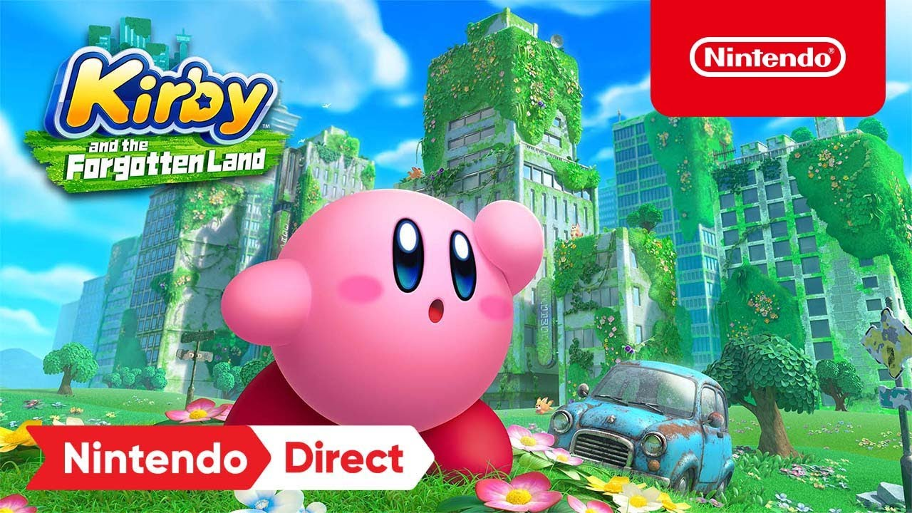 Download Kirby and the Forgotten Land – Announcement Trailer – Nintendo Switch