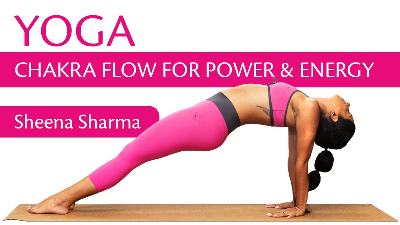 25 Minute Yoga Routine   Chakra flow for Power & Energy   Beginners