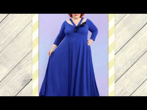 Вечерние платья больших размеров 48-68 от производителя