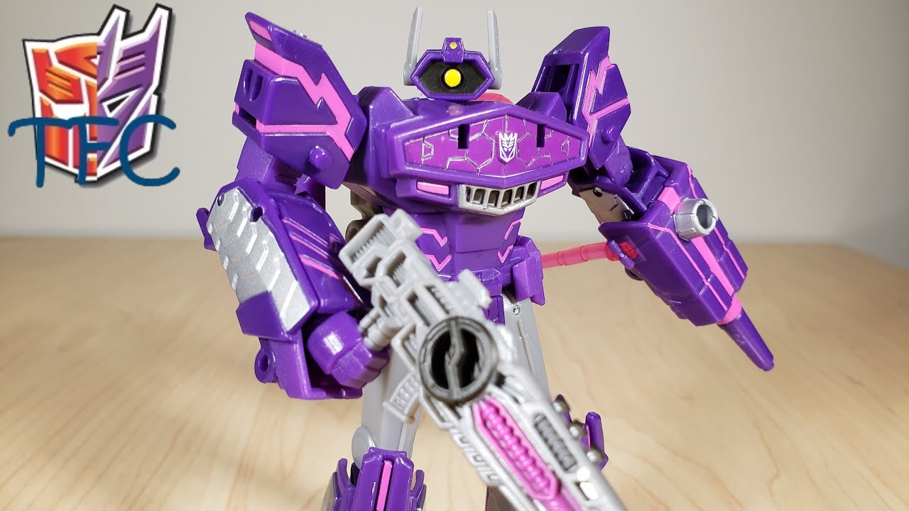 TF Collector Cyberverse Deluxe Shockwave Review!